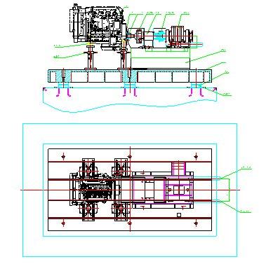 Стенд измерительный для ДВС Y660