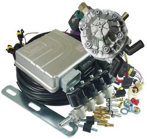 Общий вид комплектующих для перевода двигателя в газодизелльный режим
